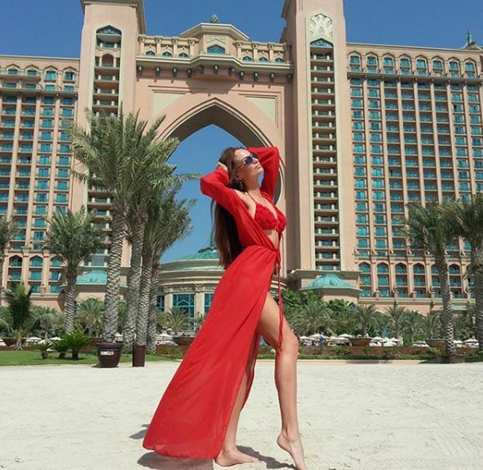 Ксения Жданова в Дубае