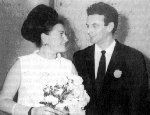 Жорес Алферов и жена Тамара
