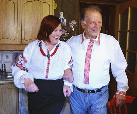 Жорес Алферов и жена Тамара Георгиевна