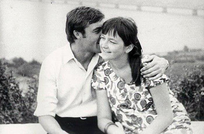 Александр Денисов и жена Ольга Клебанович