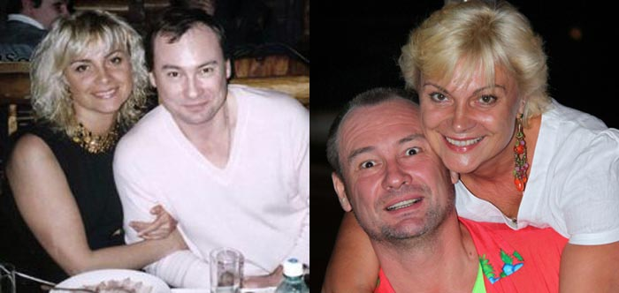 Александр Песков и жена Руслана