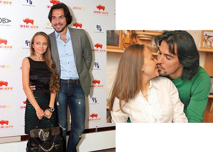 Александр Суворов и жена Екатерина