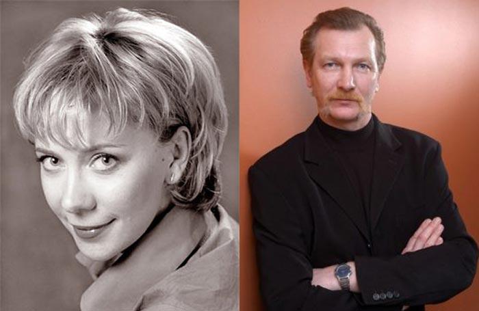 Елена Симонова и Виктор Бычков