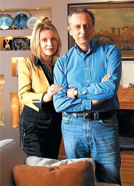 Александр Горшков и жена Ирина