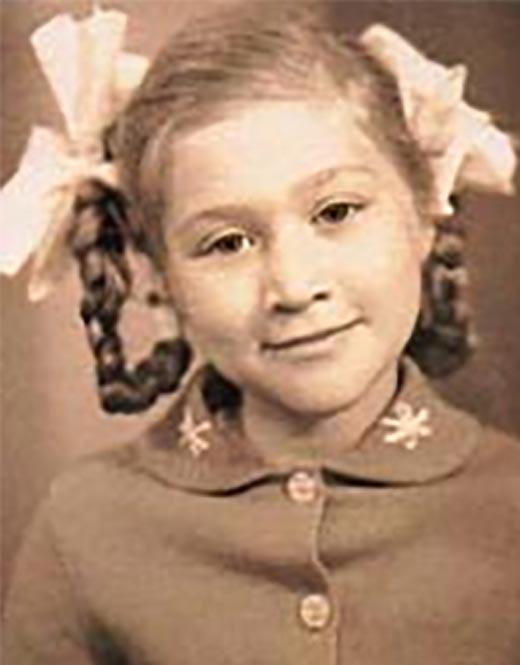Певица Линда в детстве