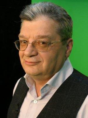 телеведущий Александр Беляев