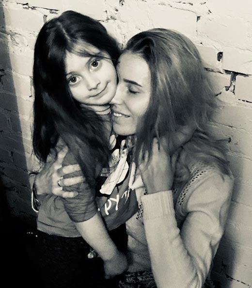 Жена и дочь Юрия Киндрата