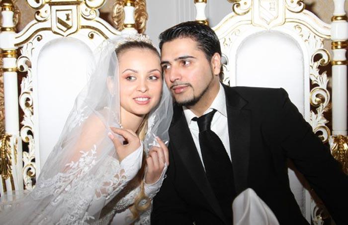 свадьба Александр Бердников и Ольга Мажарцева