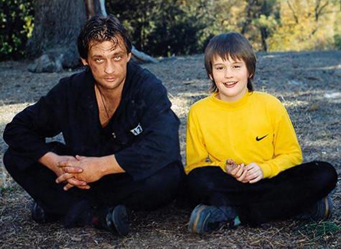 Александр Домогаров младший в детстве с отцом