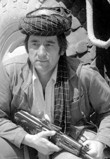 Александр Проханов в Афганистане