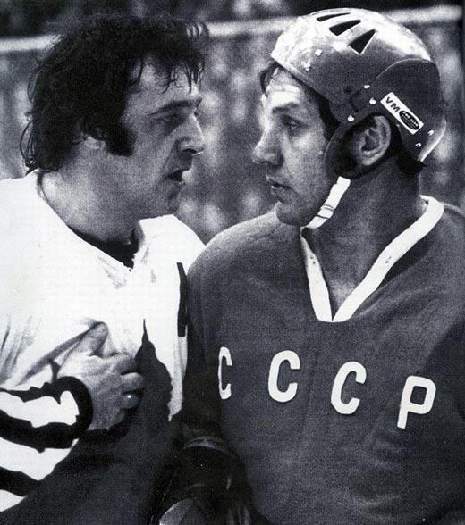 Александр Рагулин и Фил Эспозито