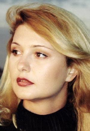 Александра Скачкова в молодости