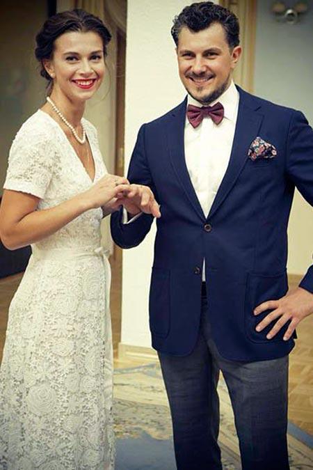 Алексей Секирин и Евгения Дмитриева