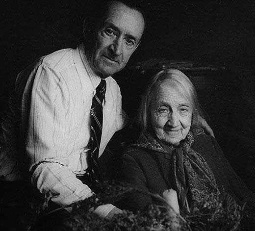 Анастасия Цветаева и сын Андрей