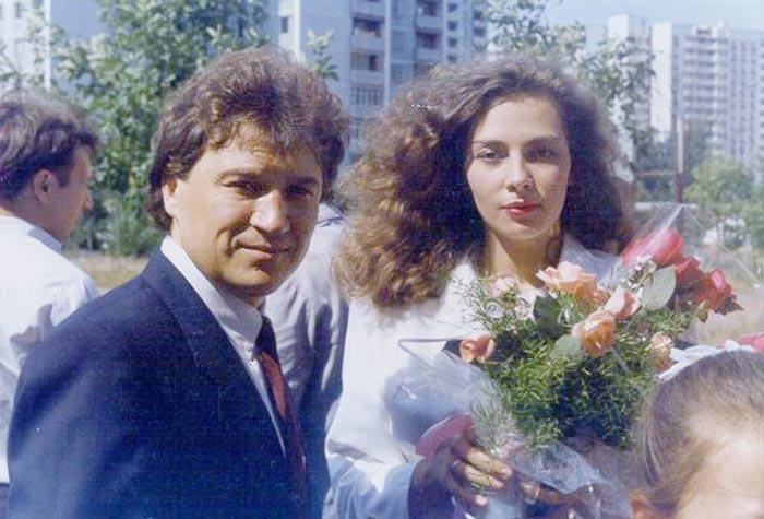 Анатолий Полотно и жена Наталья