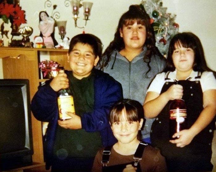 Энди Руис в детстве