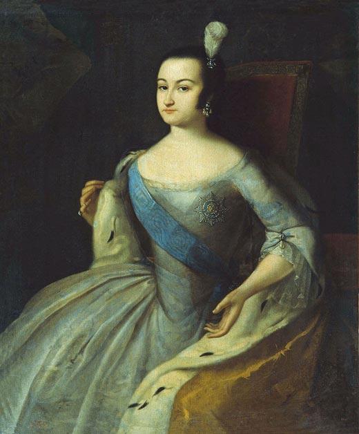 Анна Леопольдовна в молодости