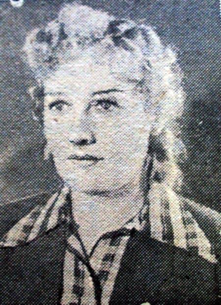 Антонина Тормозова жена Александра Гладкова