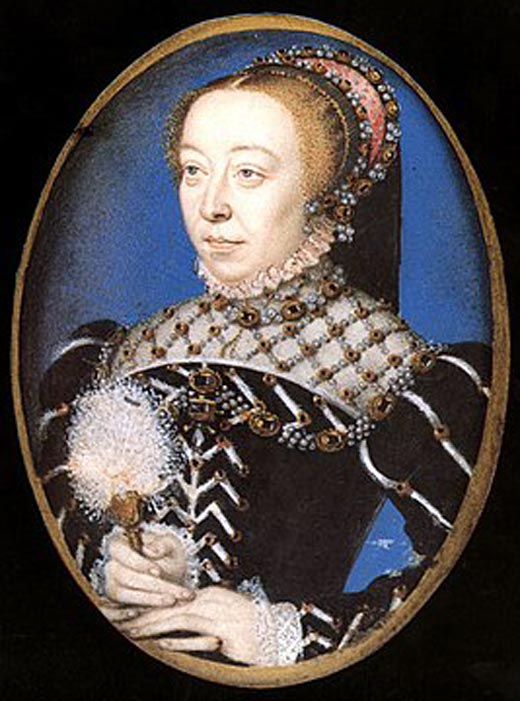 королева Франции Екатерина Медичи
