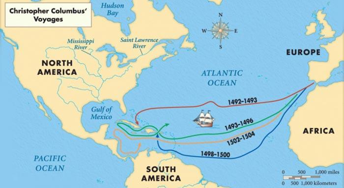 Экспедиции Колумба