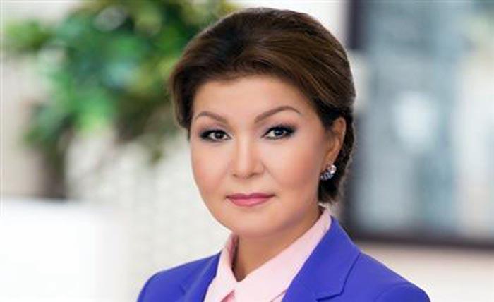 Дарига Назарбаева в молодости