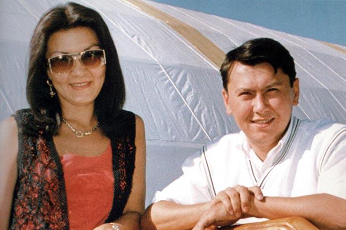 Дарига Назарбаева и Рахат Алиев