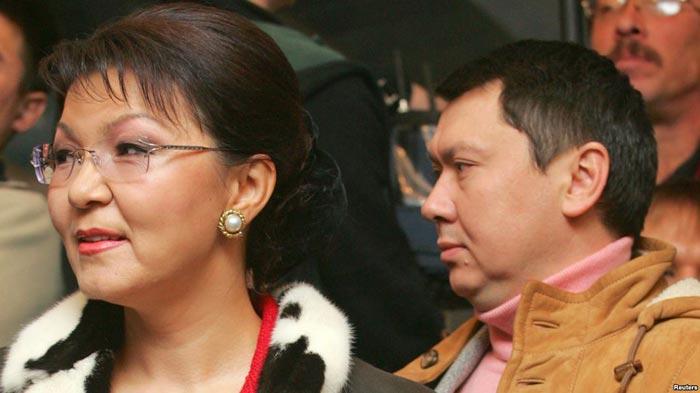 Дарига Назарбаева и муж Рахат Алиев