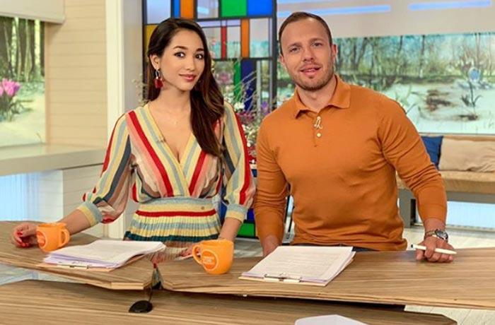 Дильбар Файзиева и Тимур Соловьев Доброе утро