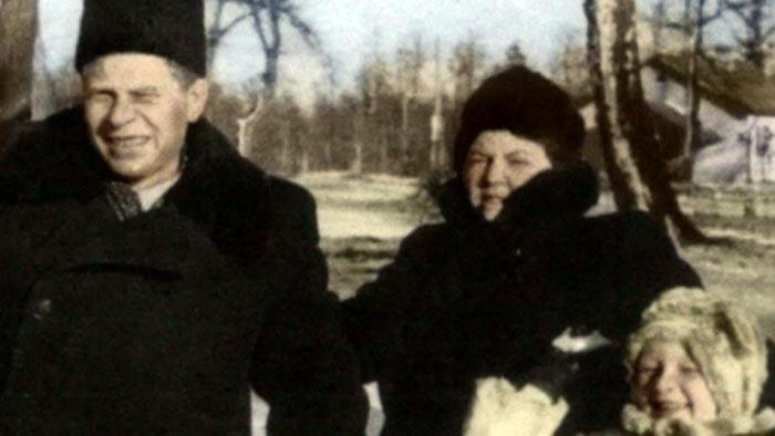 Дмитрий Устинов и жена Таисия