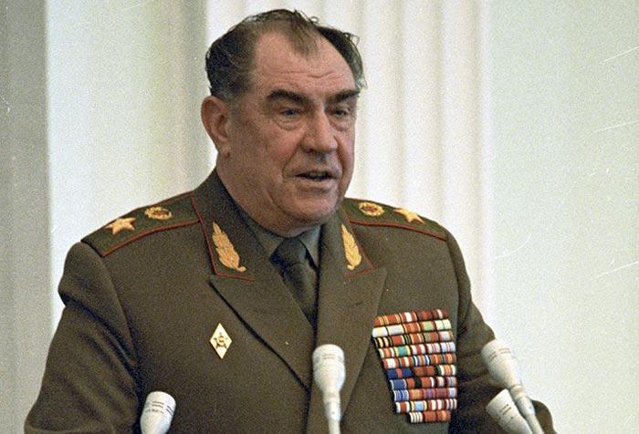 Маршал Советского Союза Дмитрий Язов