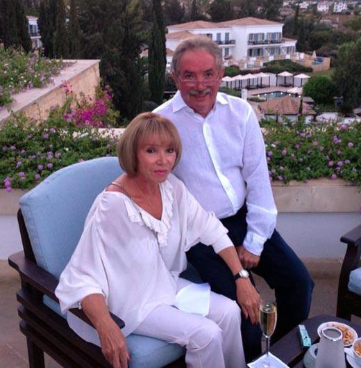 Эдуард Сагалаев и жена Людмила
