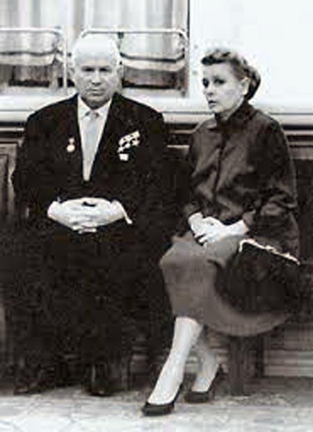 Екатерина Фурцева и Никита Хрущев