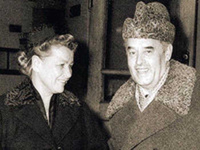 Екатерина Фурцева и Николай Фирюбин