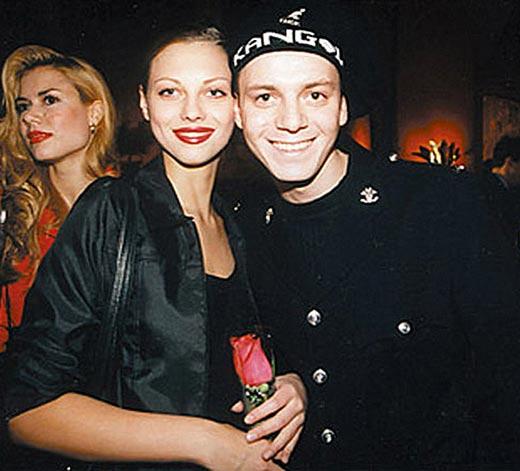 Екатерина Полянская и Андрей Кобзон