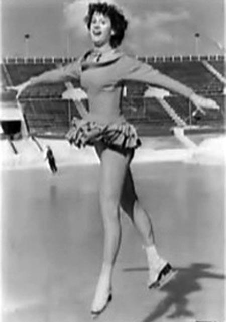 Елена Чайковская на льду