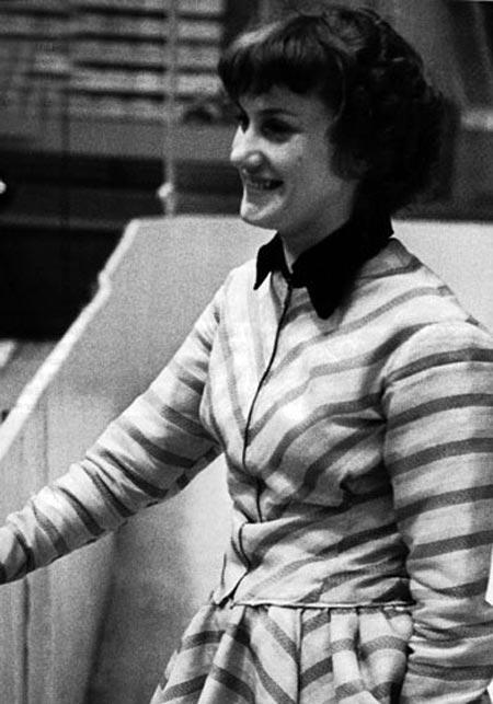 Елена Чайковская в молодости