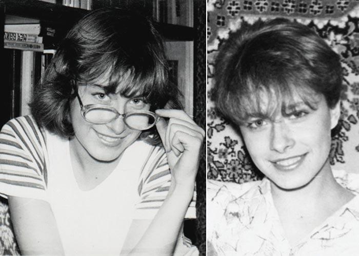 Елена Кравец в юности