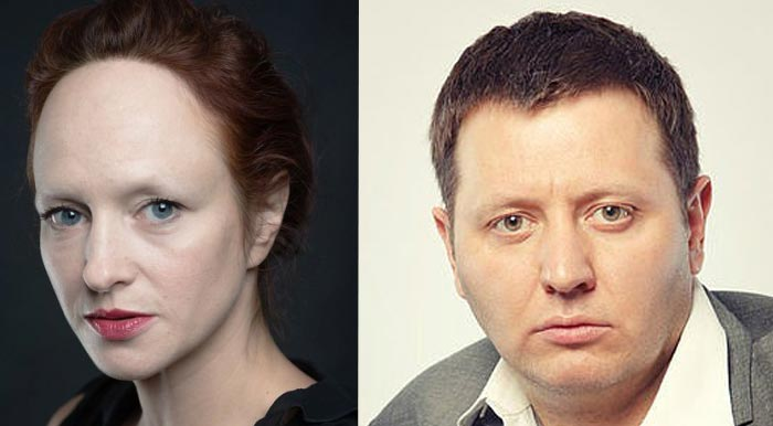 Елена Морозова и Владислав Котлярский
