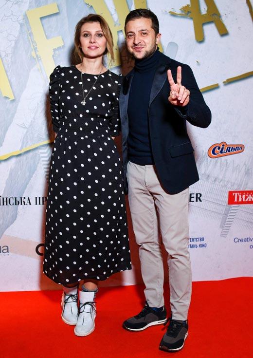 Елена и Владимир Зеленские 3