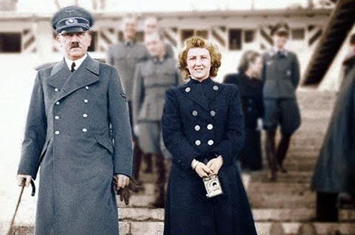 Ева Браун и Адольф Гитлер 3