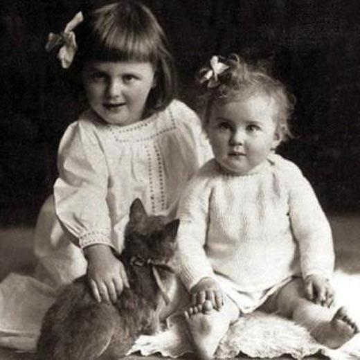 Ева Браун в детстве