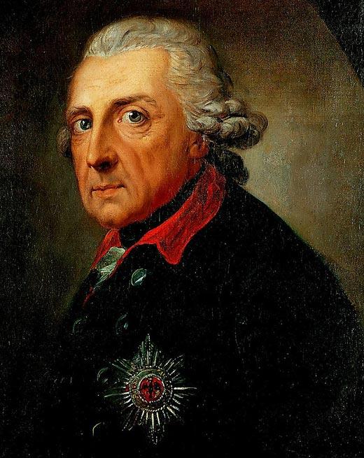 Король Пруссии Фридрих Великий
