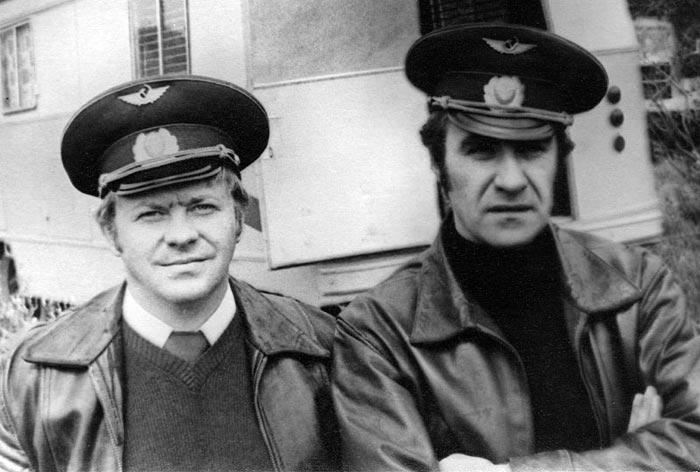 Геннадий Матвеев на съемках фильма Экипаж