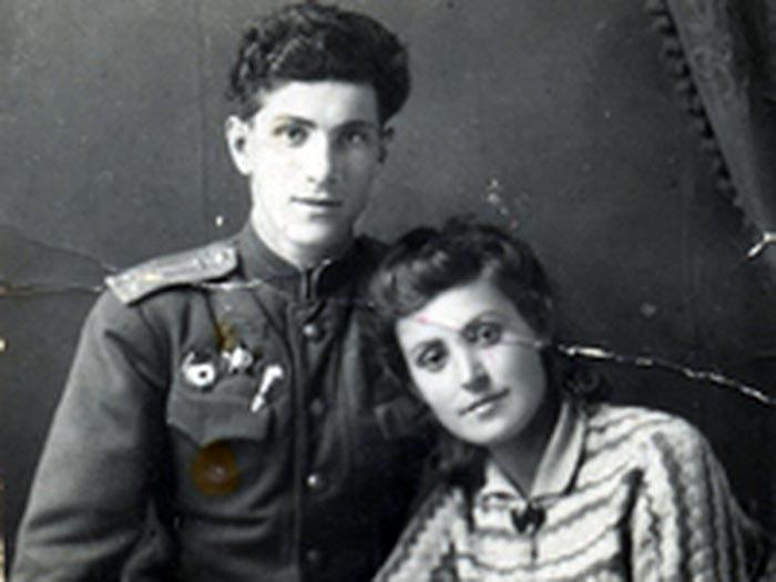 Григорий Чухрай и жена Ираида