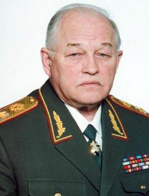 Маршал Игорь Дмитриевич Сергеев