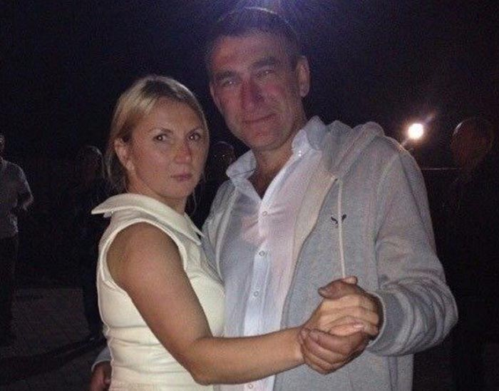 Инна Белоконь и муж Олег