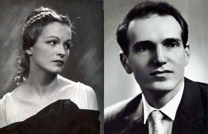 Ирина Колпакова и муж Владилен Семёнов