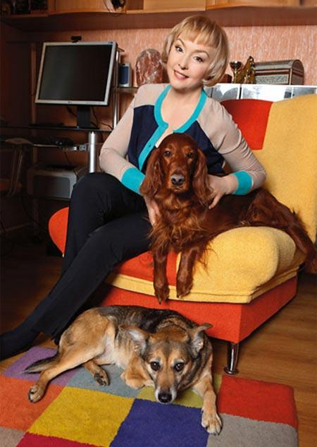 Ирина Малышева с собаками