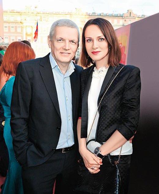 Ирина Савицкова и Александр Галибин