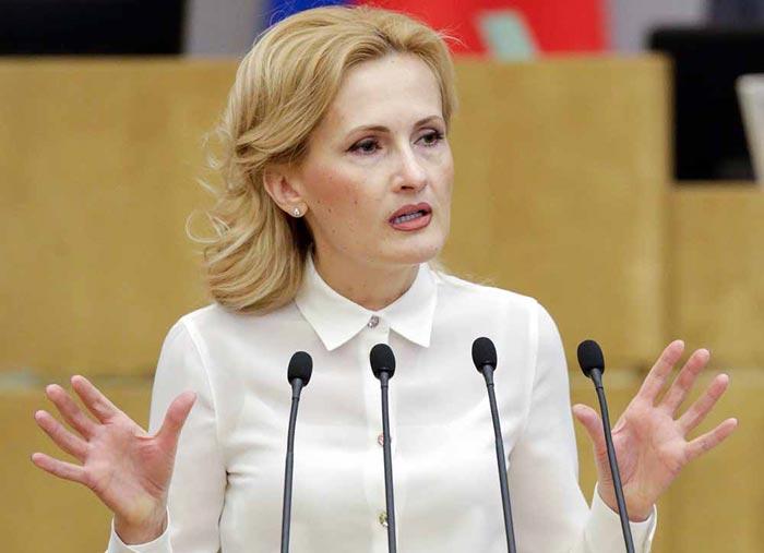 политик Ирина Яровая